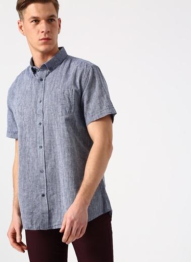 Cotton Bar Gömlek İndigo